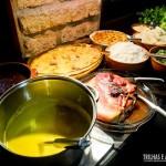 Jantar com diversas opções. Inclusive caldos e sopas!
