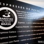 Experiemnte cafés de baristas premiados no Press Café