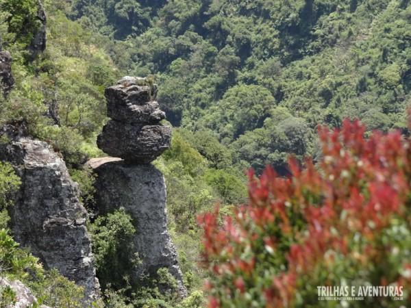 A Pedra do Segredo atrai visitantes de todo o mundo no Cânion Fortaleza