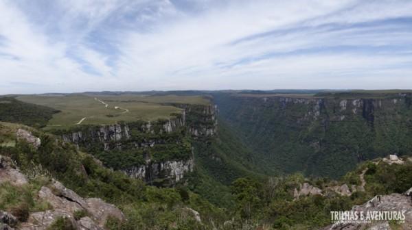 Parque Nacional da Serra Geral - Cânion Fortaleza, o segundo maior cânion do Brasil