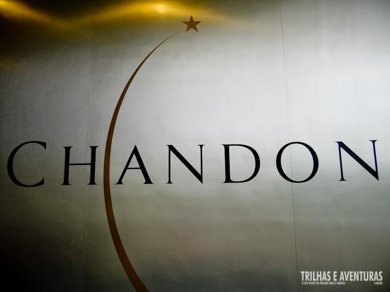A famosa marca já consolidada em todo o mundo: Chandon