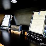 Premiações e certificados da Vinícola Chandon