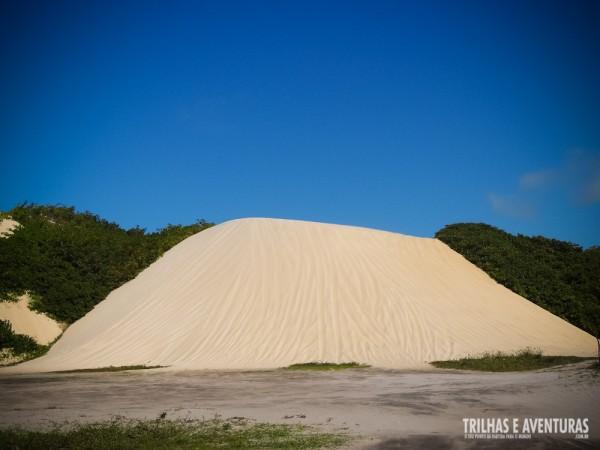 Foi uma delícia descer essa duna com emoção!
