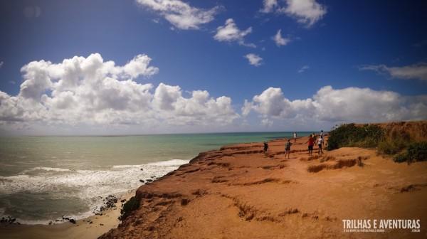 Lá embaixo está a Lajinha, na Praia do Amor