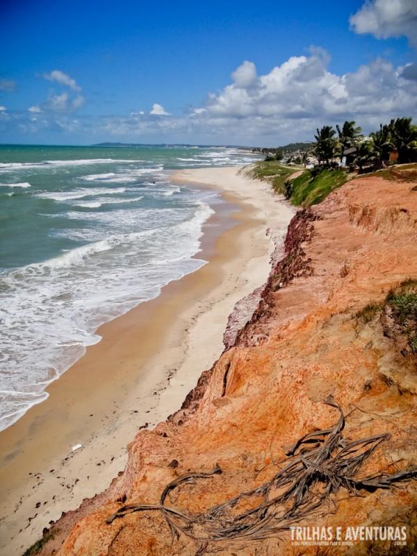 Vista do Mirante das Tartarugas, na Praia de Sibaúma