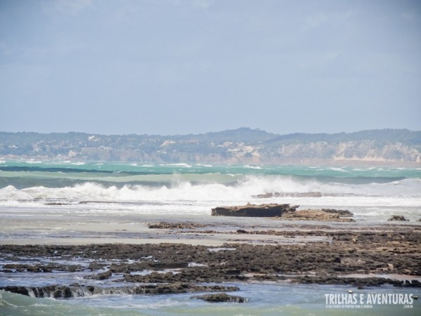 Os recifes deixam as ondas bem longe das piscinas naturais