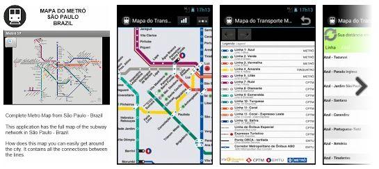 Metro Map - App de Viagem de São Paulo