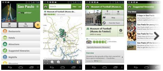 São Paulo City Guide Trip Advisor - App de Viagem de São Paulo