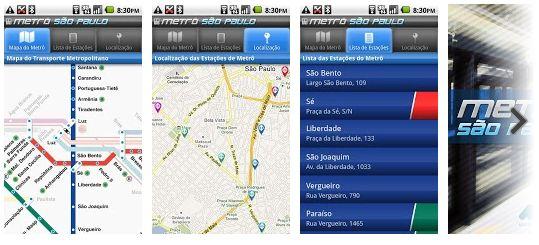 Metrô São Paulo - App de Viagem de São Paulo