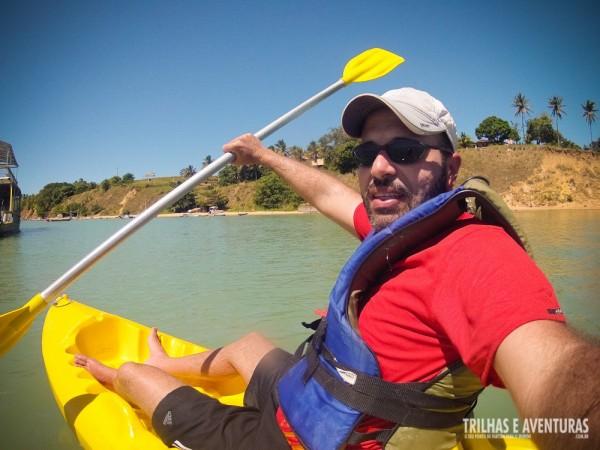 Posso garantir que é muito divertido esse Passeio de Caiaque na Lagoa Guaraíras