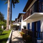 Apartamentos com varanda e acesso ao jardim
