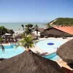 Vista do D Beach Resort, em Natal, com o Morro do Careca ao fundo