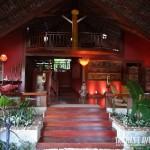 Recepção do Hotel Sombra e Água Fresca, em Pipa