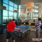Área interna de recreação para jovens e adultos
