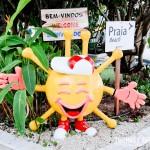 O símbolo do hotel virou um sol na área infantil! :D