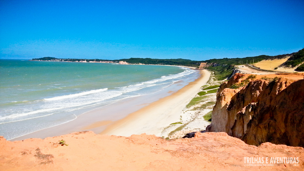 Mirante da Praia de Cacimbinha, com a incrível Pipa ao longe