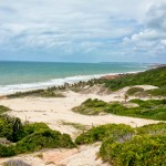 Basta descer a trilha para chegar no Chapadão e Praia das Minas
