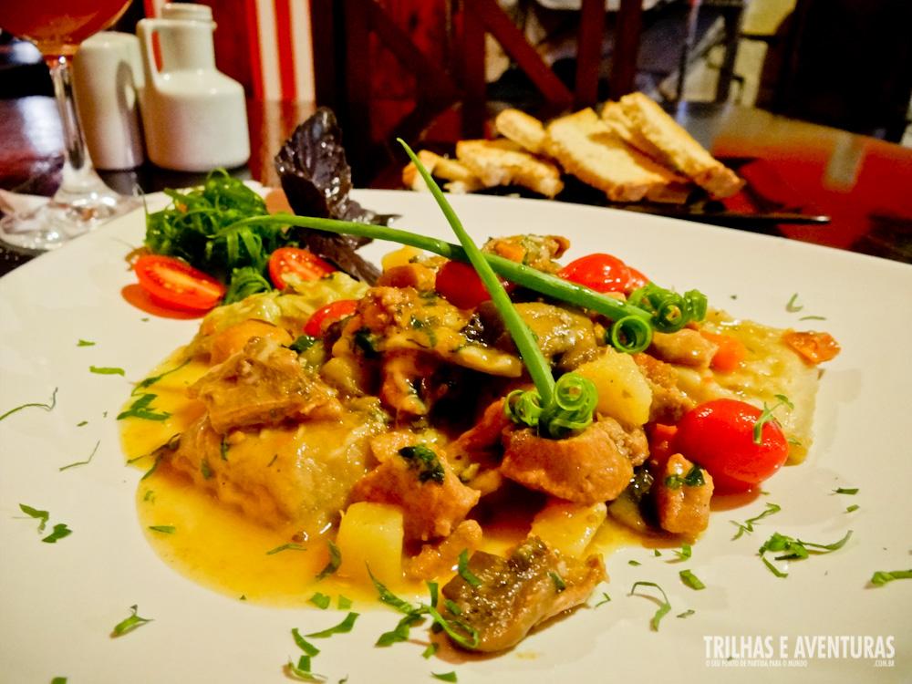 Meu jantar: Tagliatelle com Ragu Light de Coelho e Legumes