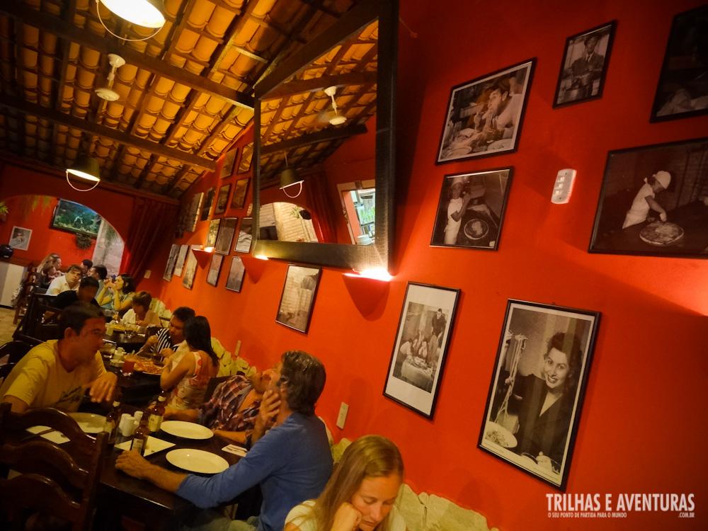 Restaurante e Pizzaria Dall' Italiano, em Pipa - RN