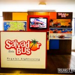 Stand do Salvador Bus no Shopping Iguatemi