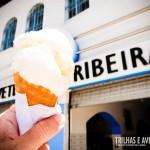 Que tal um sorvete da Ribeira?