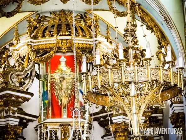 Detalhes do altar da Igreja do Bonfim