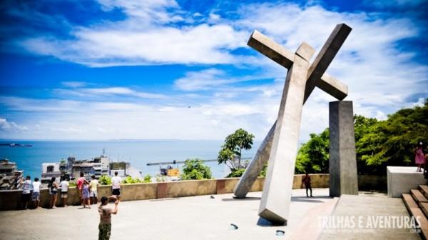 Monumento da Cruz Caída - Salvador BA