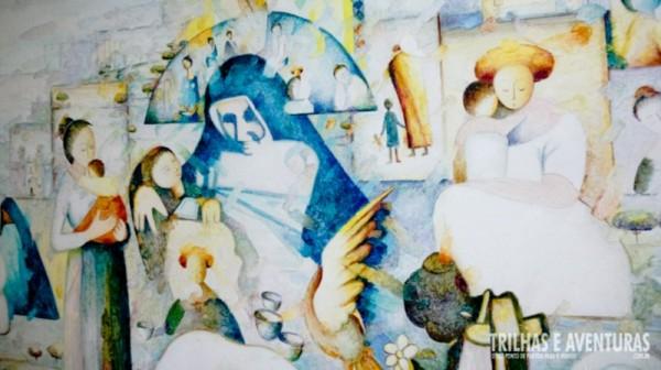 Painel no Memorial Irmã Dulce - Salvador BA