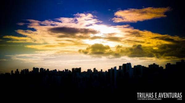 Pôr-do-sol incrível em Salvador BA
