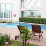 Piscina da cobertura do Hotel Comfort Ibirapuera