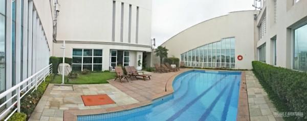 Foto Panorâmica da cobertura do Hotel Comfort Ibirapuera