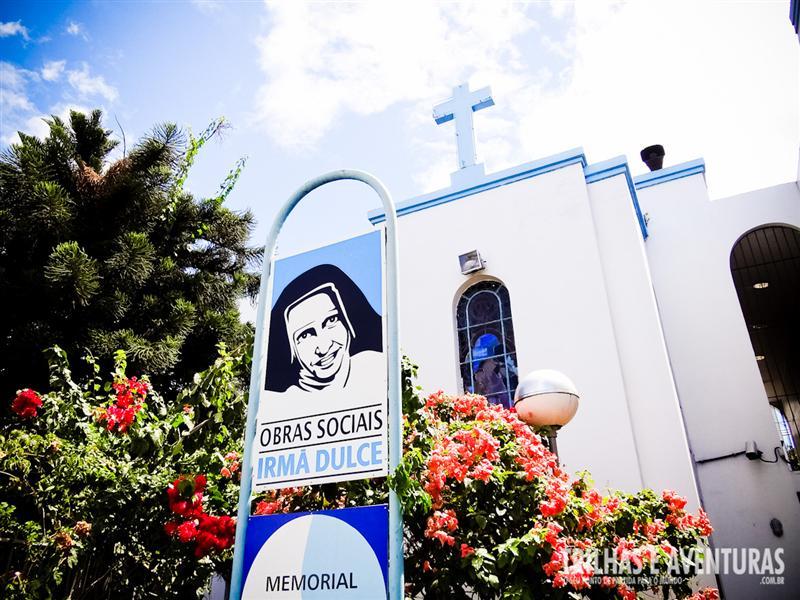 Memorial Irmã Dulce, em Salvador - Bahia