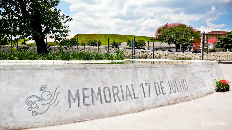 Memorial 17 de Julho, em São Paulo