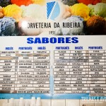 Mais de 50 sabores de sorvetes na Ribeira