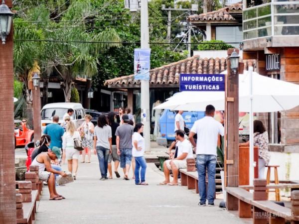Pontos de apoio ao turista de fácil acesso