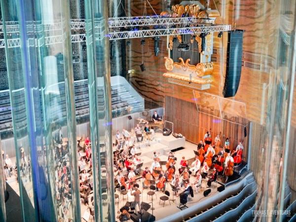 Sala especial para concertos na Casa da Música