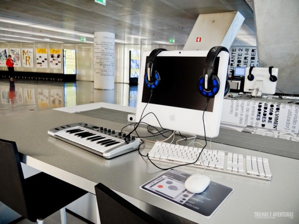 Incentivo a produção e estudo com equipamentos modernos