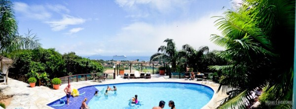 Panorâmica da Piscina do Hotel