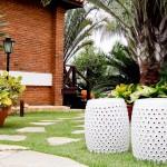 Projeto paisagístico nos jardins