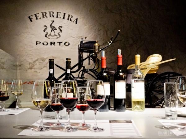 Degustação de vinhos na Vinícola Ferreira