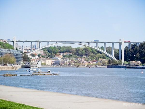 Rio Douro e as pontes da cidade do Porto