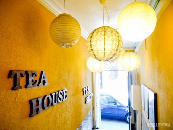 Rota do Chá, uma linda loja de chá no Porto - Portugal