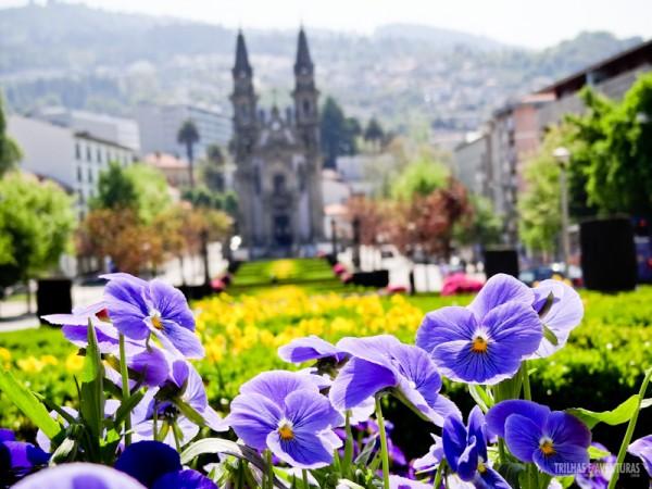 Jardins de Guimarães, onde Portugal começou