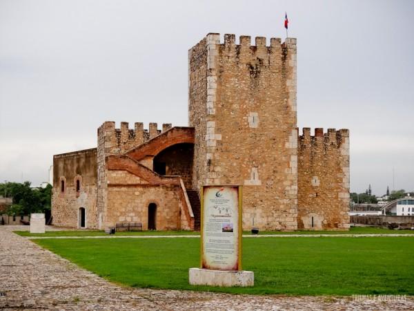 Fortaleza Ozama em Santo Domingo