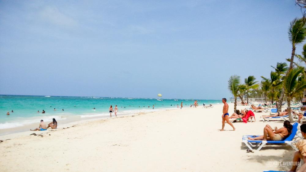 Praia de Punta Cana, na República Dominicana