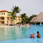 Piscina do Hotel Iberostar Hacienda Dominicus em Bayahibe