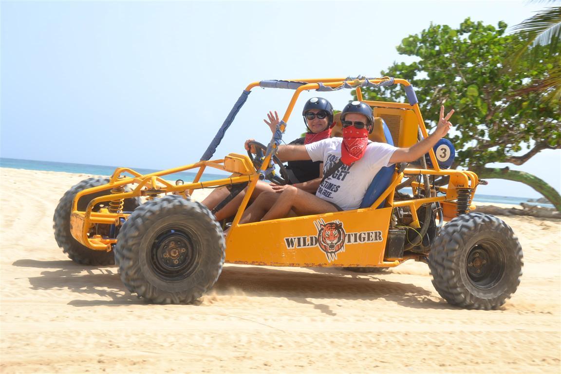 Wild Tiger Buggy, aventura e diversão em Punta Cana