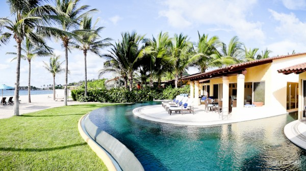 Uma das suítes exclusivas do Four Seasons Punta Mita
