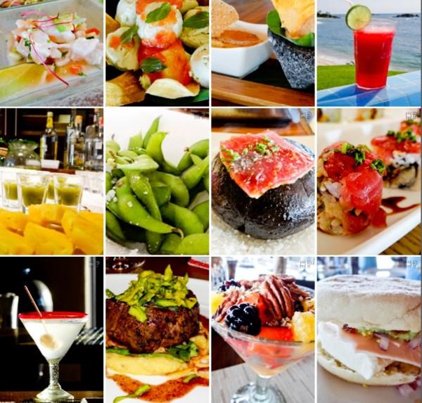 Alguns dos pratos que comemos no @FSPuntaMita