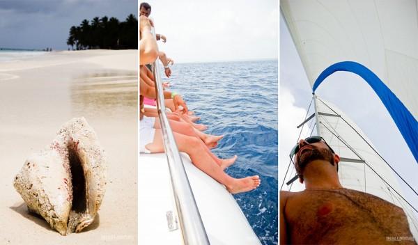 Praia, sol e vento fresco... a Ilha Saona é um lugar inesquecível